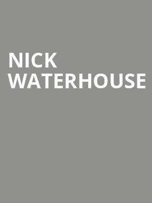 Nick Waterhouse at Crocodile Cafe