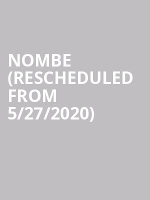 NoMBE (Rescheduled from 5/27/2020) at Crocodile Cafe