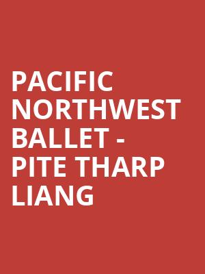 Pacific Northwest Ballet - Pite Tharp Liang at McCaw Hall