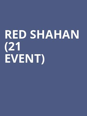 Red Shahan (21+ Event) at Sunset Tavern