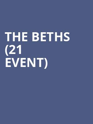 The Beths (21+ Event) at Chop Suey