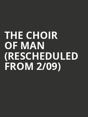 The Choir of Man (Rescheduled from 2/09) at Moore Theatre