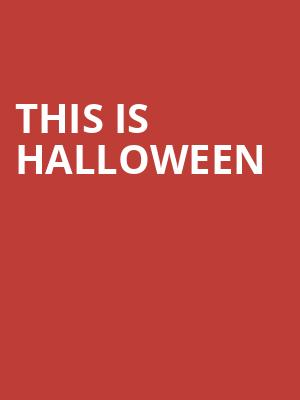 This Is Halloween Tickets Calendar - Jun 2019 - Triple Door Seattle