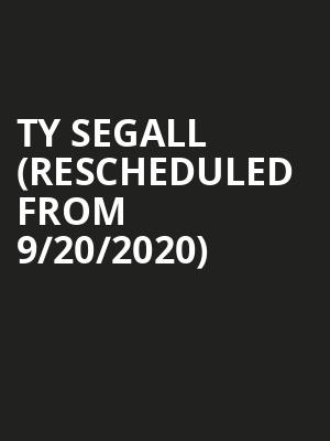 Ty Segall (Rescheduled from 9/20/2020) at Showbox Theater