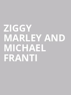 Ziggy Marley and Michael Franti at Chateau St Michelle