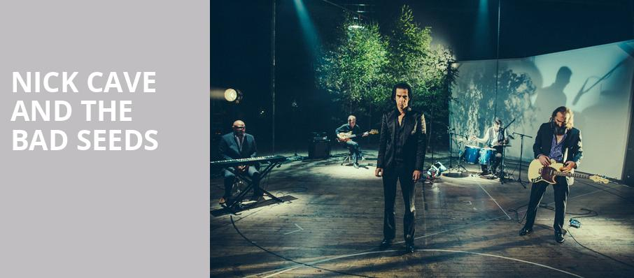 Nick Cave and The Bad Seeds, WaMu Theater, Seattle