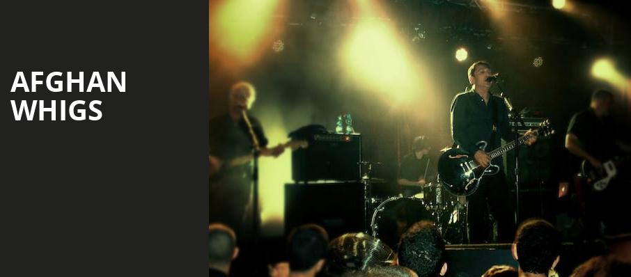 Afghan Whigs, Showbox Theater, Seattle