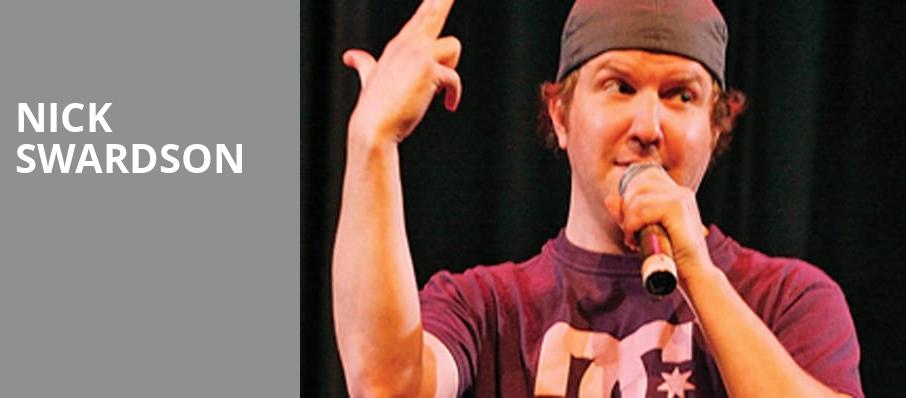 Nick Swardson, Moore Theatre, Seattle