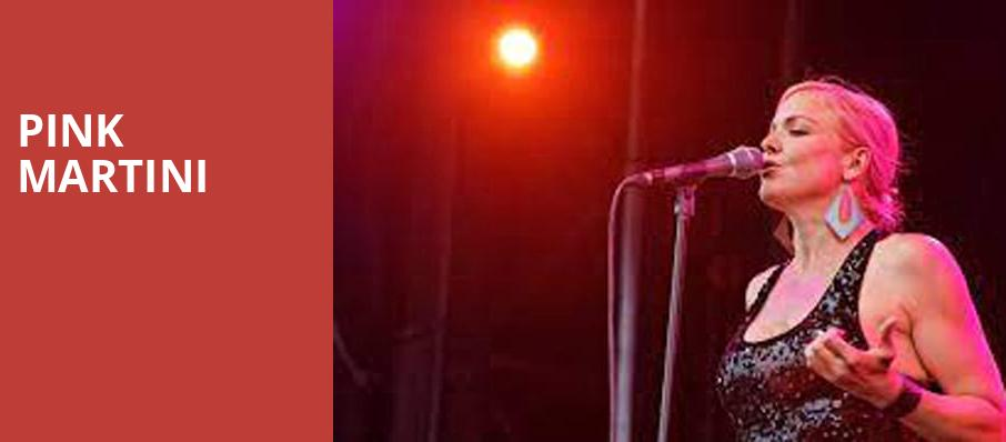 Pink Martini, Pantages Theater, Seattle