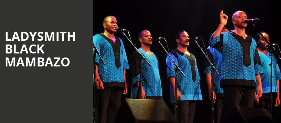 Ladysmith Black Mambazo, Neptune Theater, Seattle