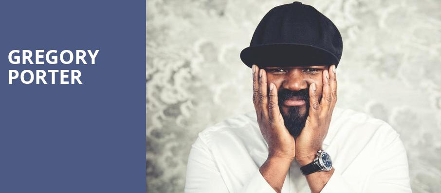 Gregory Porter, Moore Theatre, Seattle