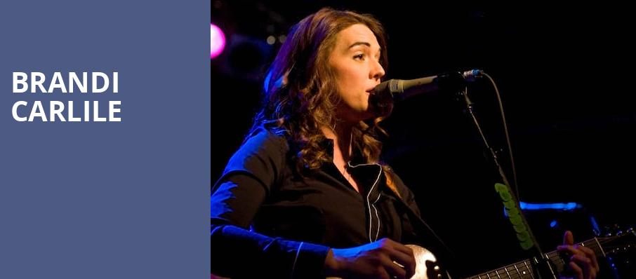Brandi Carlile, Neptune Theater, Seattle