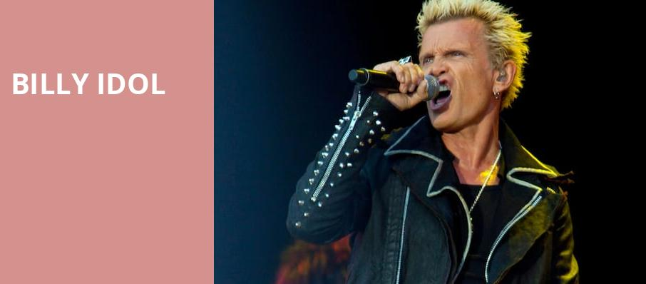 Billy Idol, Puyallup Fairgrounds, Seattle