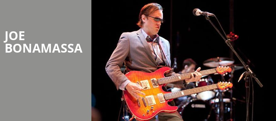 Joe Bonamassa, Paramount Theatre, Seattle
