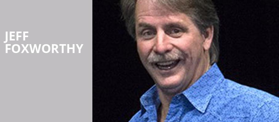 Jeff Foxworthy, Snoqualmie Casino Ballroom, Seattle