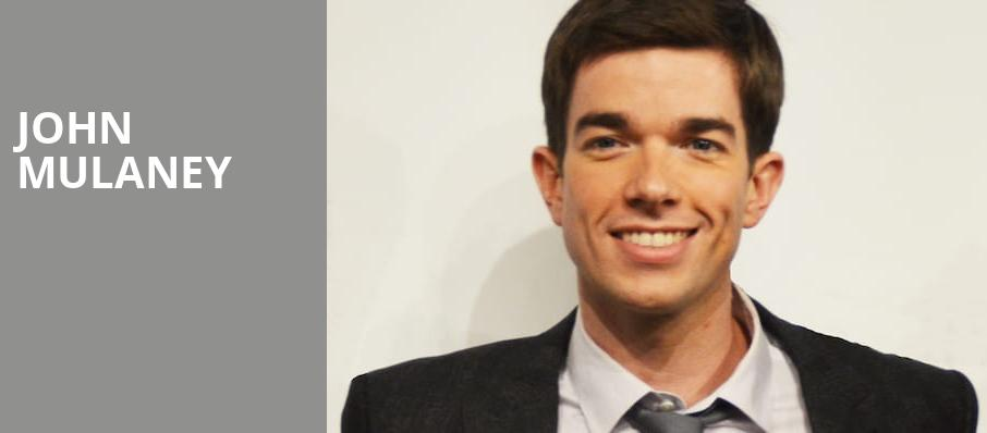 John Mulaney, Paramount Theatre, Seattle