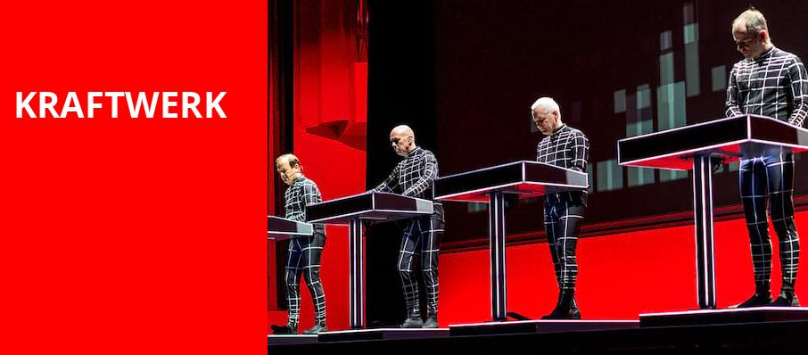 Kraftwerk, Moore Theatre, Seattle