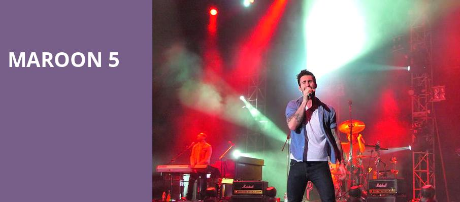 Maroon 5, White River Amphitheatre, Seattle