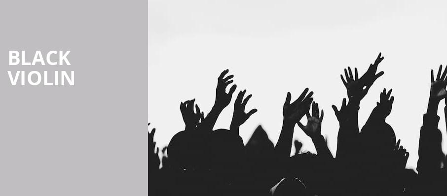 Black Violin, Paramount Theatre, Seattle