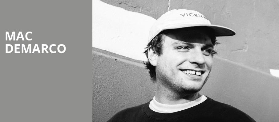 Mac DeMarco, Moore Theatre, Seattle