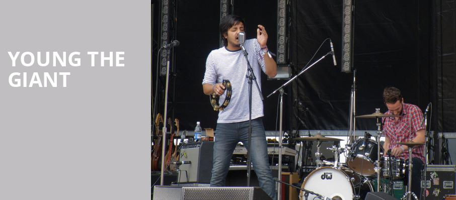 Young The Giant, Marymoor Amphitheatre, Seattle