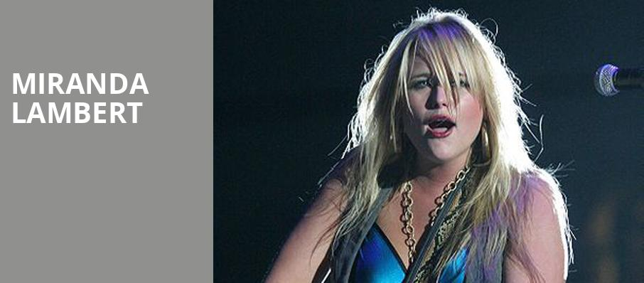 Miranda Lambert, Tacoma Dome, Seattle