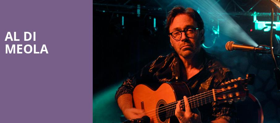 Al Di Meola, Neptune Theater, Seattle