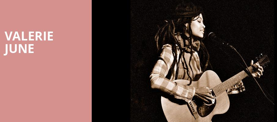 Valerie June, Showbox Theater, Seattle