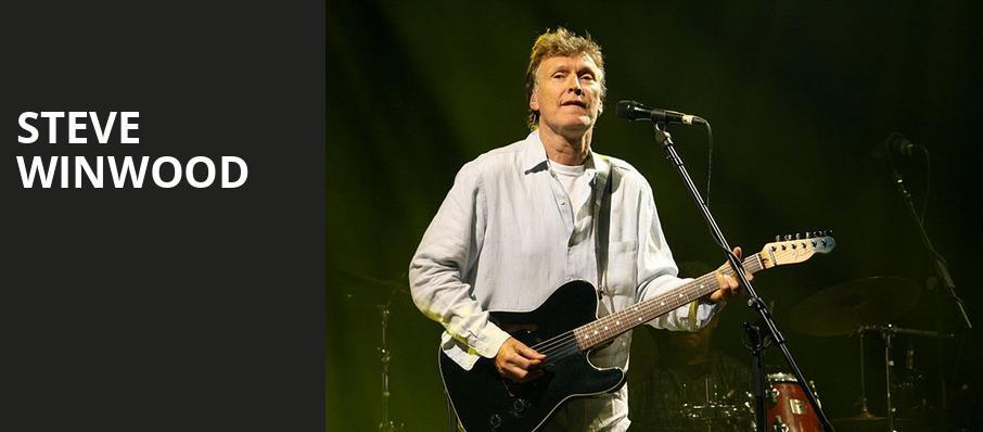 Steve Winwood, Chateau St Michelle, Seattle