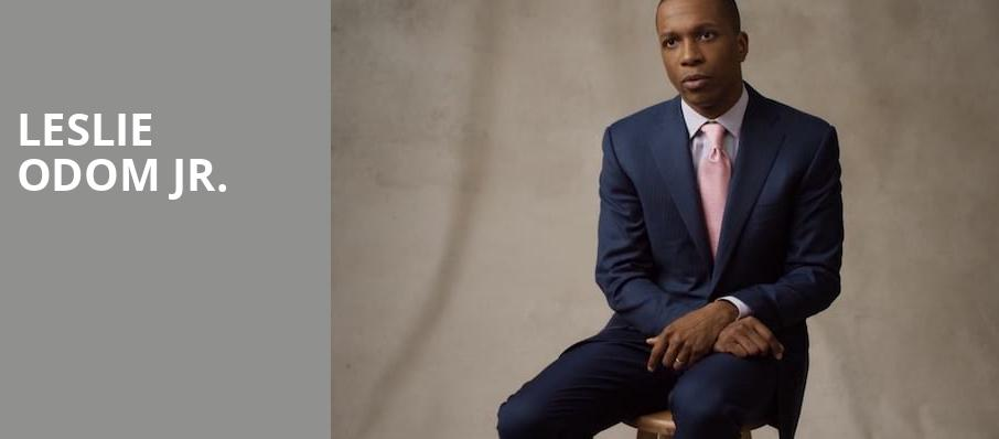 Leslie Odom Jr, Neptune Theater, Seattle