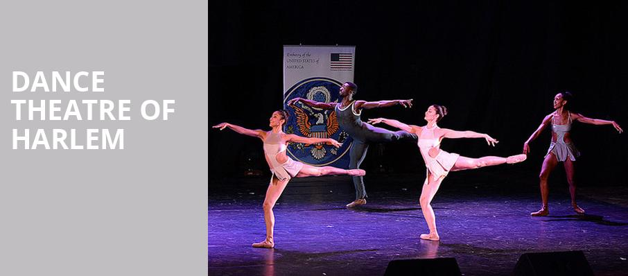 Dance Theatre of Harlem, Paramount Theatre, Seattle