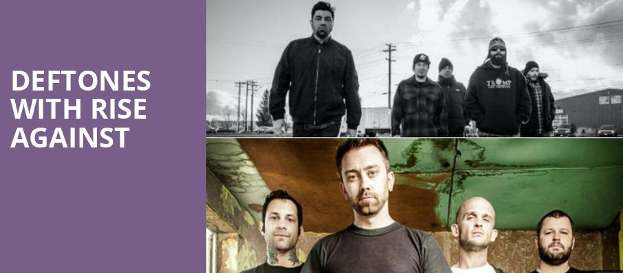 Deftones with Rise Against, White River Amphitheatre, Seattle