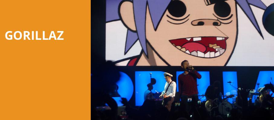Gorillaz, Key Arena, Seattle