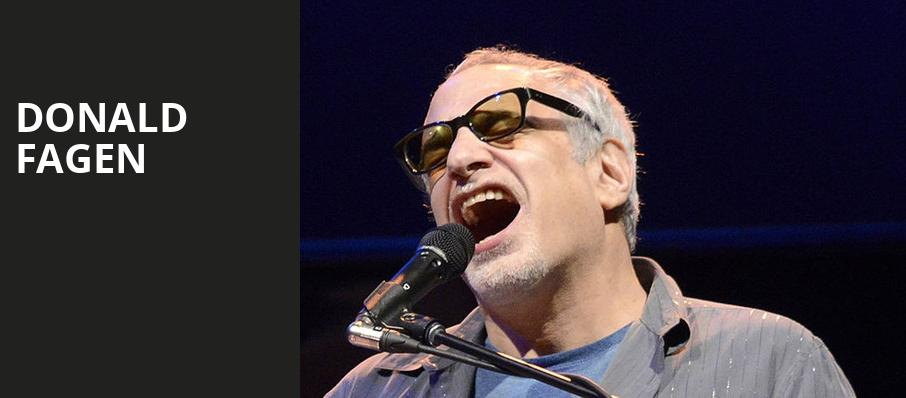 Donald Fagen, Paramount Theatre, Seattle