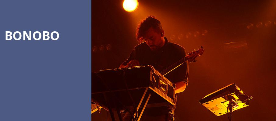 Bonobo, Paramount Theatre, Seattle
