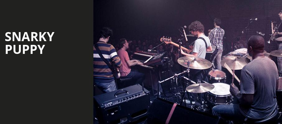 Snarky Puppy, Moore Theatre, Seattle