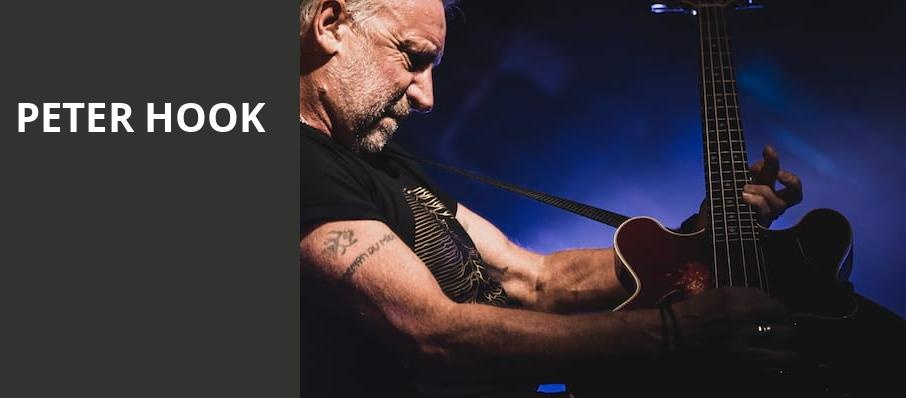 Peter Hook, Neptune Theater, Seattle