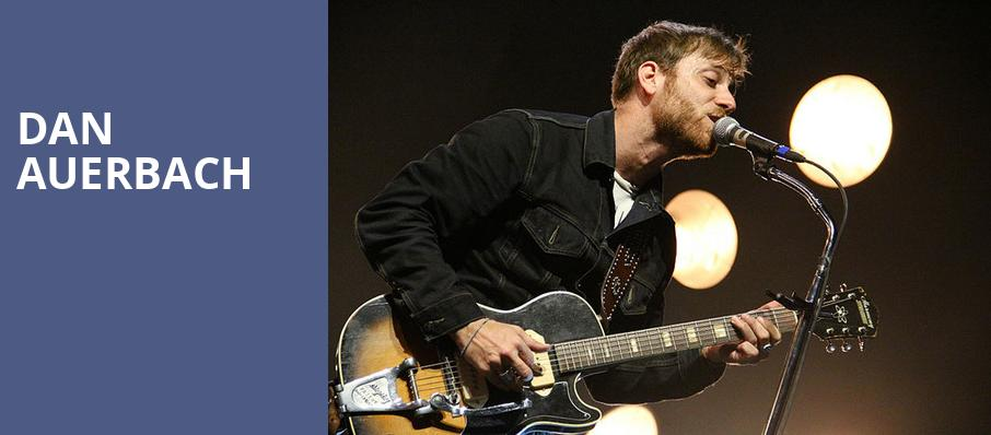 Dan Auerbach, Showbox Theater, Seattle
