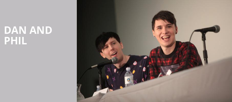 Dan and Phil, Moore Theatre, Seattle