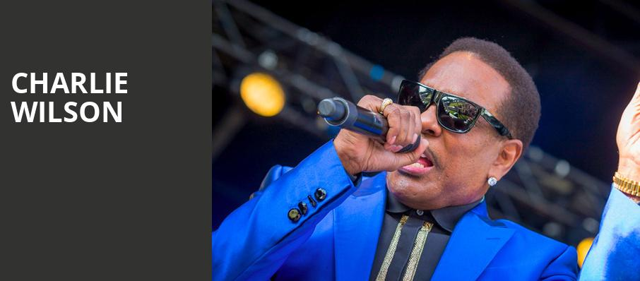 Charlie Wilson, Puyallup Fairgrounds, Seattle