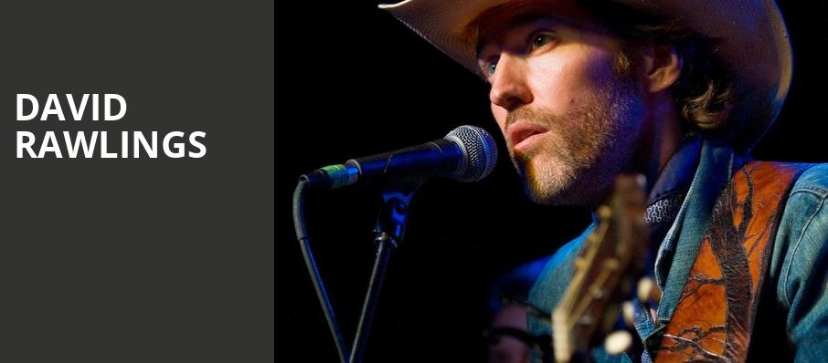 David Rawlings, Moore Theatre, Seattle