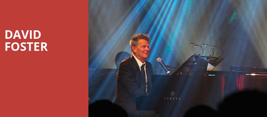 David Foster, Paramount Theatre, Seattle