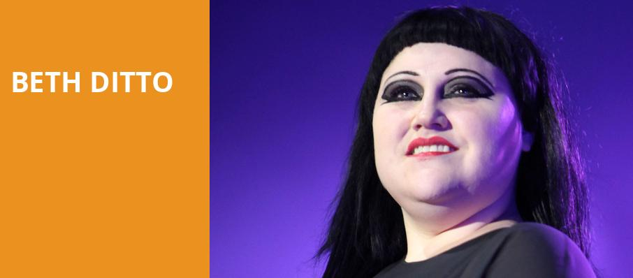 Beth Ditto, Showbox Theater, Seattle