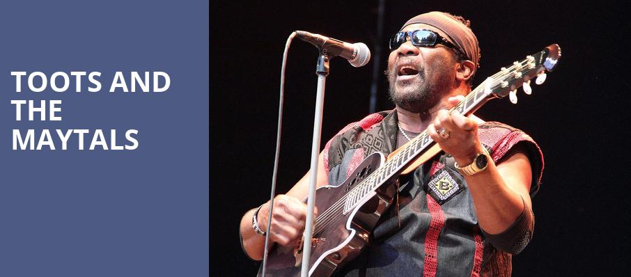 Toots and the Maytals, Benaroya Hall, Seattle