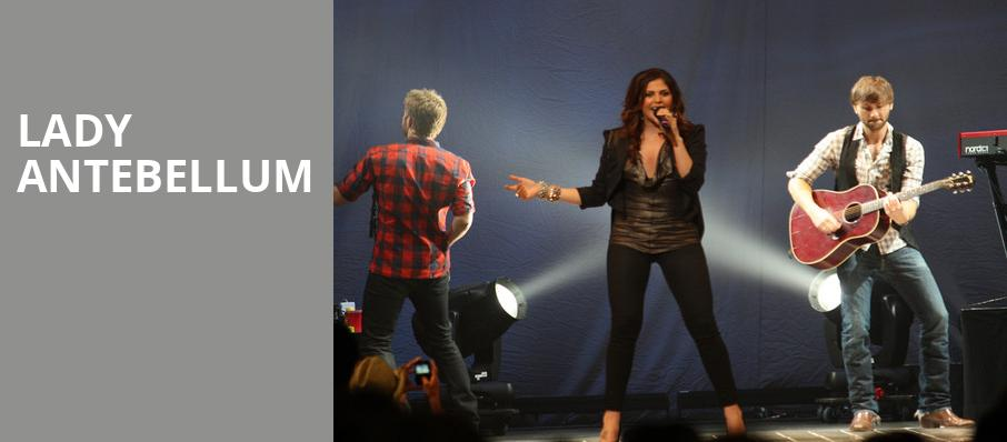 Lady Antebellum, Puyallup Fairgrounds, Seattle
