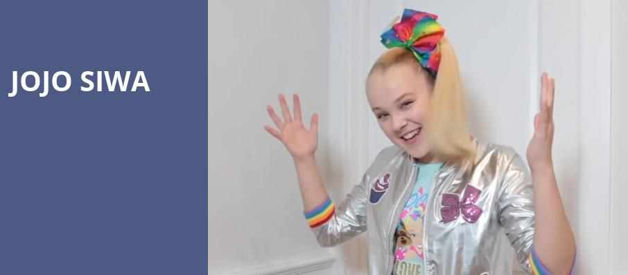 Jojo Siwa, McCaw Hall, Seattle
