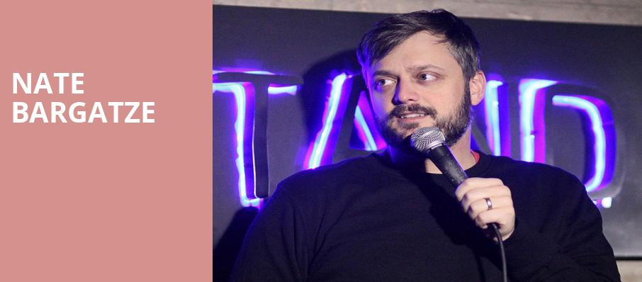 Nate Bargatze, Pantages Theater, Seattle
