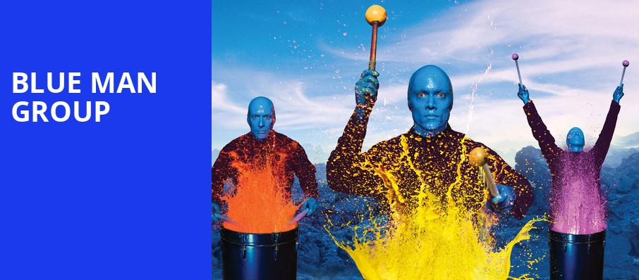 Blue Man Group, Pantages Theater, Seattle