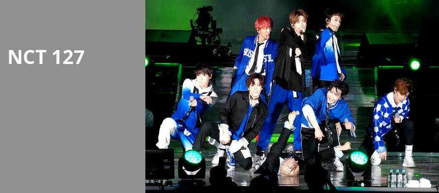 NCT 127, WaMu Theater, Seattle