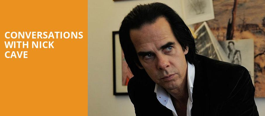 Conversations with Nick Cave, Moore Theatre, Seattle